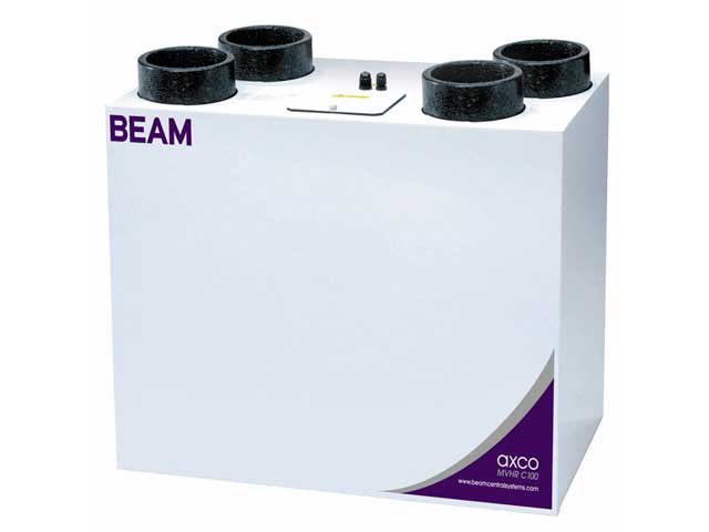 Beam Axco Mechanical Ventilation With Heat Recovery